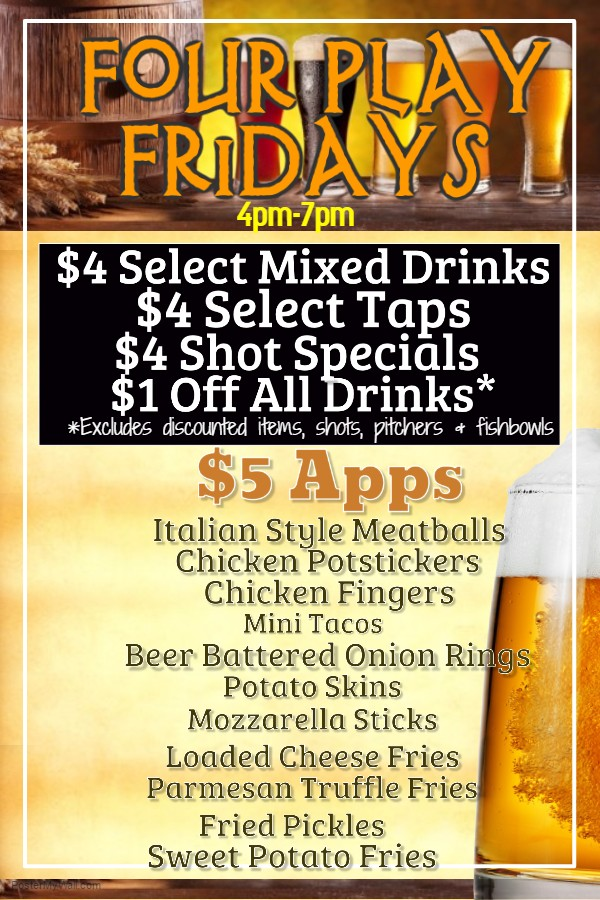 Bay Shore Special Friday
